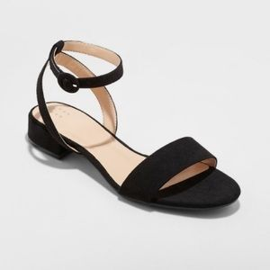 Winona Ankle Strap Sandal A New Day in Black
